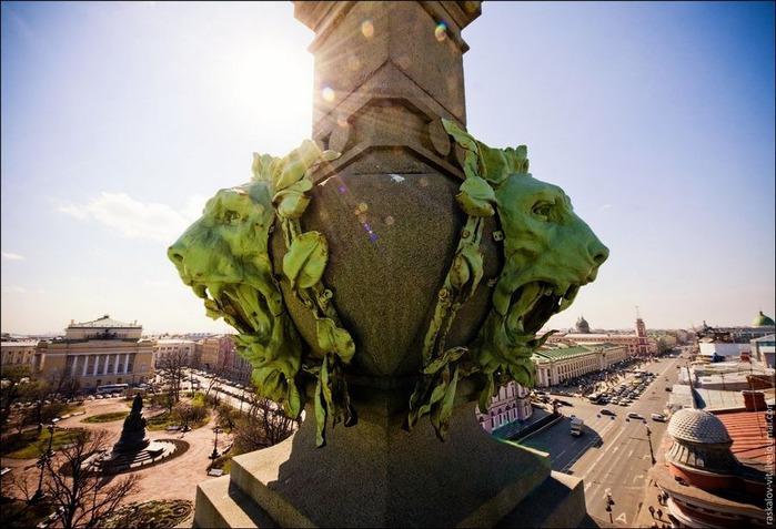 Виды Петербурга фото руфера Виталия Раскалова 44