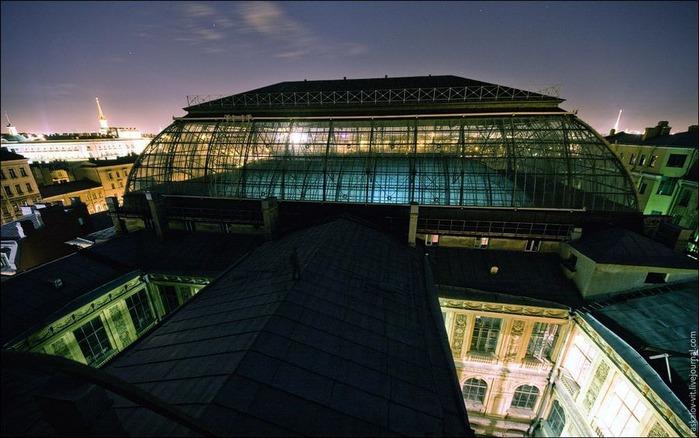 Виды Петербурга фото руфера Виталия Раскалова 48