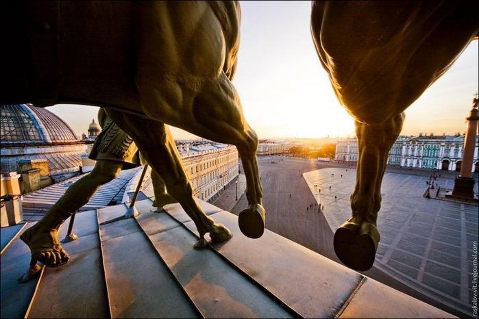 Виды Петербурга фото руфера Виталия Раскалова 56