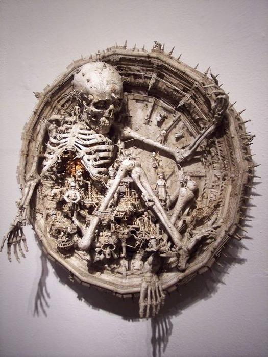 Мастера скульптуры - Крис Кукси (Kris Kuksi) 11