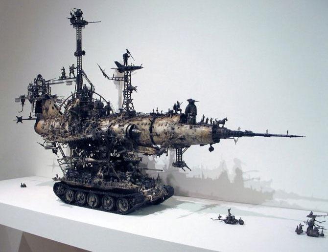 Мастера скульптуры - Крис Кукси (Kris Kuksi) 15