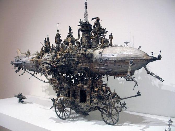 Мастера скульптуры - Крис Кукси (Kris Kuksi) 16