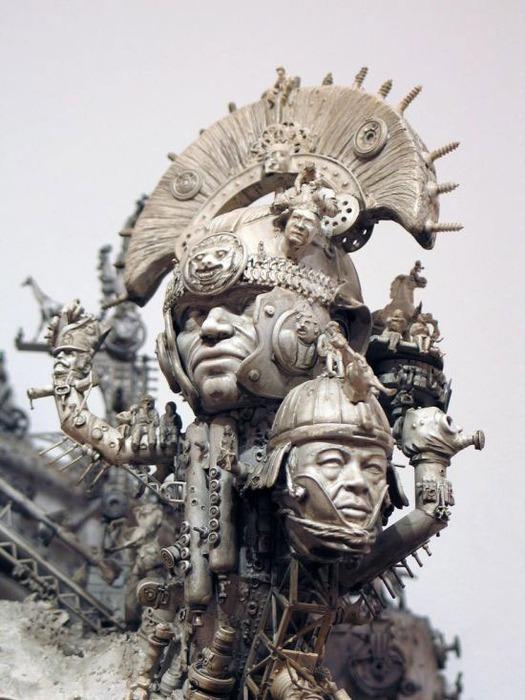 Мастера скульптуры - Крис Кукси (Kris Kuksi) 17
