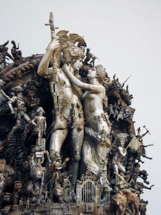Мастера скульптуры - Крис Кукси (Kris Kuksi) 18