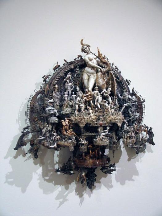 Мастера скульптуры - Крис Кукси (Kris Kuksi) 20