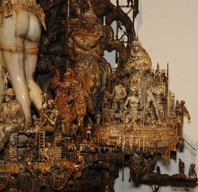 Мастера скульптуры - Крис Кукси (Kris Kuksi) 27