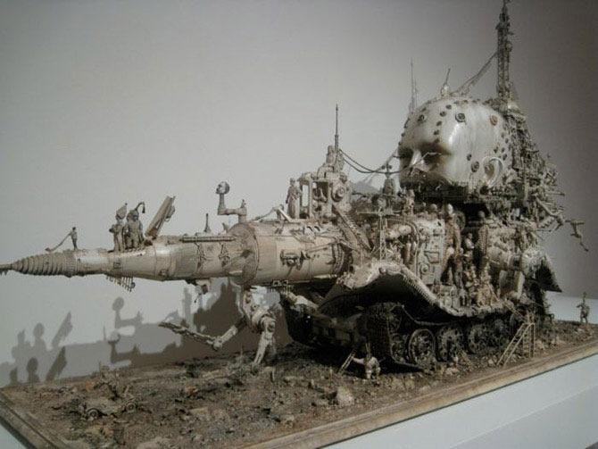 Мастера скульптуры - Крис Кукси (Kris Kuksi) 29