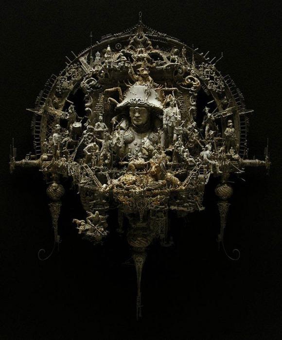 Мастера скульптуры - Крис Кукси (Kris Kuksi) 35