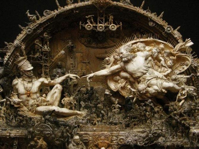 Мастера скульптуры - Крис Кукси (Kris Kuksi) 38