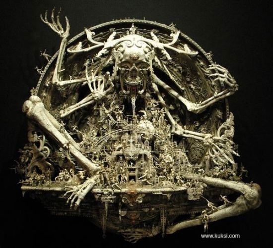 Мастера скульптуры - Крис Кукси (Kris Kuksi) 40