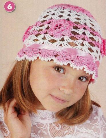 Детская шапочка связанная