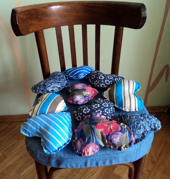 Чехлы для стула из джинса своими руками21