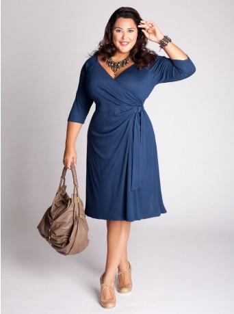 Модели платья для полных