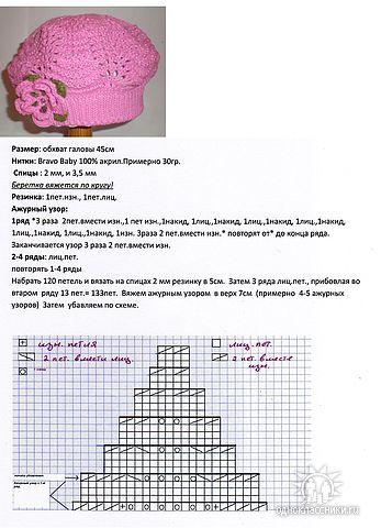 розовый берет (347x480, 39Kb)