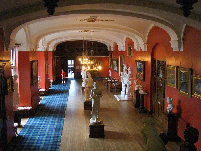 Замок Carbisdale, Шотландия 47047
