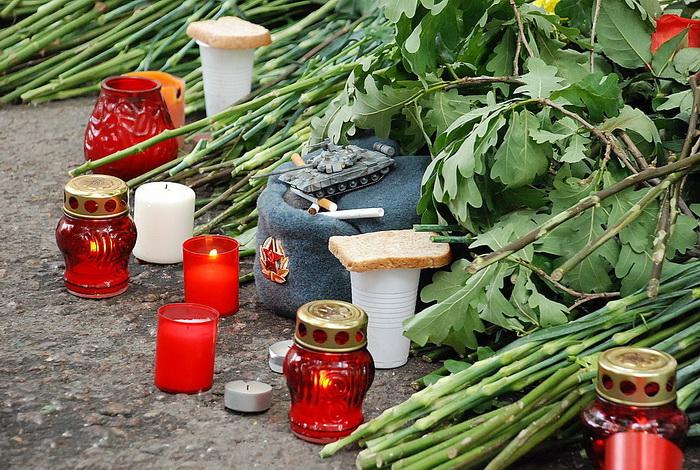 Цветы на месте убийства полковника Юрия Буданова dsc_0036 (700x470, 222Kb)