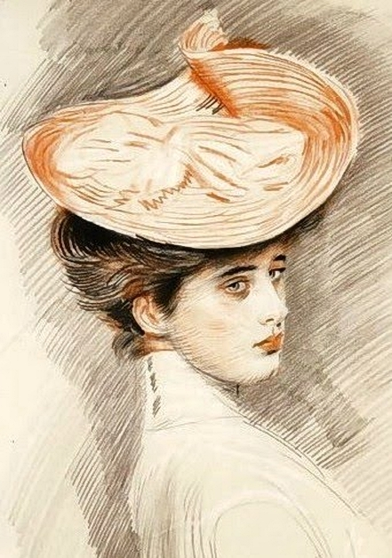Paul_Cesar_Helleu_ ​​(French_artist, _1859-1927) _madame_helleu (441x628, 241Kb)