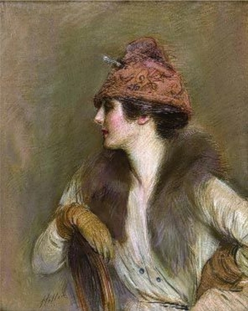 Paul_Cesar_Helleu_ (French_artist, _1859-1927__Jeanne_Toussaint (508x638, 208Kb)