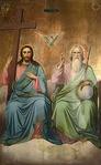 Превью икона Святая Троица2 (250x404, 34Kb)