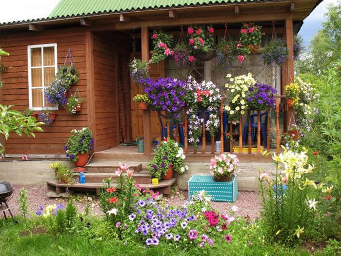 Как сделать вазоны для сада своими руками