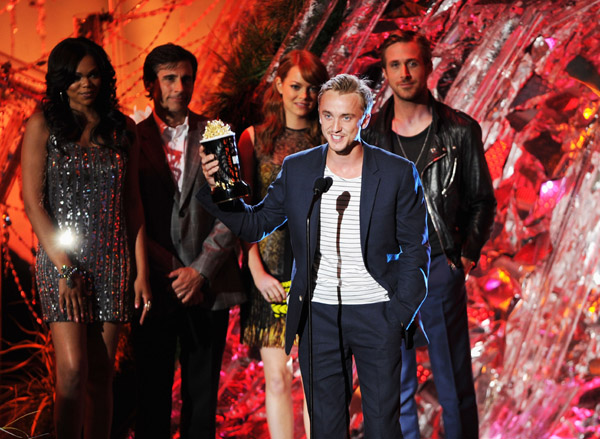 MTV Movie Awards 2011, Robert Pattinson, Taylor Daniel Lautner, Kristen Jaymes Stewart