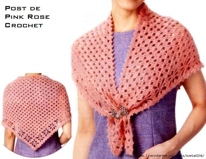 Xale de Croche _Shawl PRoseCrochet (675x524, 196Kb)