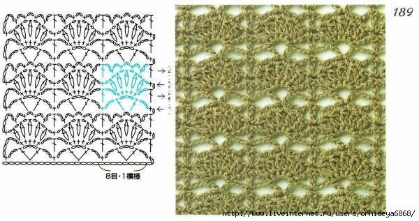 Серия сообщений. orhideya6868.  Различные способы вязания.  Образцы.  Отделка.