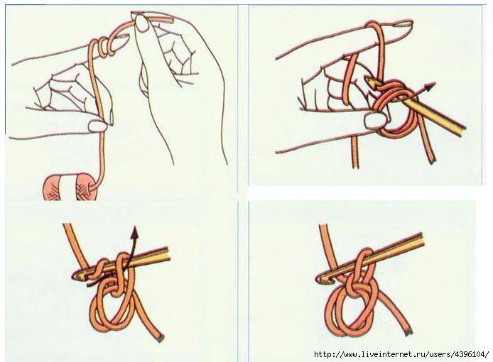 Как в вязании сделать петли 28