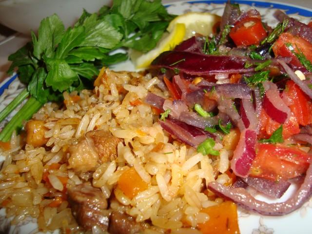 плов таджикский вкусно (640x480, 105Kb)