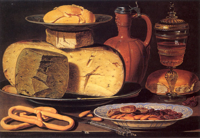 натюрморт с сыром: