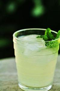 Для того чтобы приготовить рецепт лимонного напитка с мятой нам...