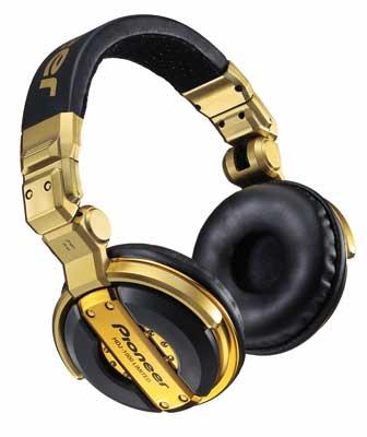 наушники Pioneer HDJ-1000-G Limited Edition Золотые.