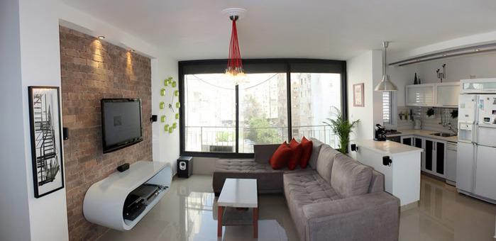 Дизайн интерьера квартиры в Тель-Авиве