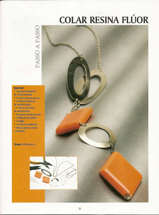 Журнал с пошаговыми инструкциями по изготовлению бижутерии из бисера и Фимо, так же есть интересные идеи по...