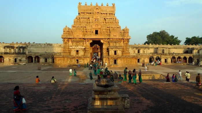 Танджавур - Брихандишвара Мандир (Brihadishwara Mandir) 81058