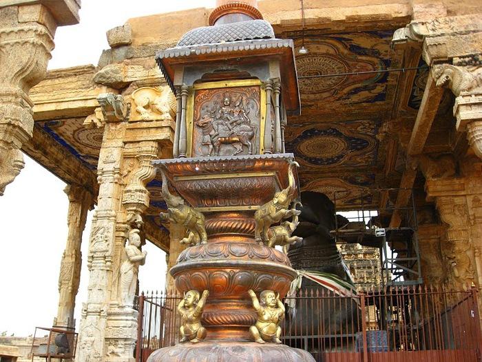 Танджавур - Брихандишвара Мандир (Brihadishwara Mandir) 38066