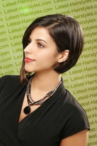 Прическа для волос за уши