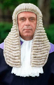 Парик судьи своими руками