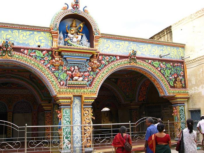 Танджавур - Дворец Наяков и музеи 28849
