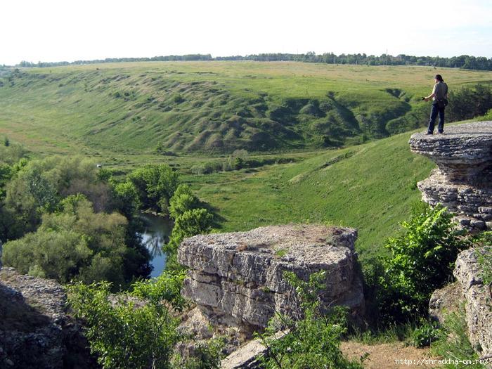 Липецкая область, река Воргол, Воргольские скалы, заповедник Галичья гора, Shraddha_1 (700x525, 354Kb)