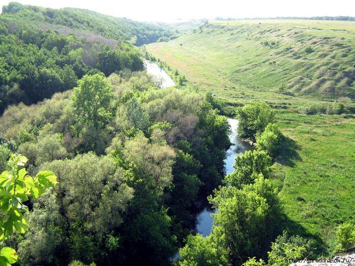 Липецкая область, река Воргол, Воргольские скалы, заповедник Галичья гора, Shraddha_2 (700x525, 364Kb)