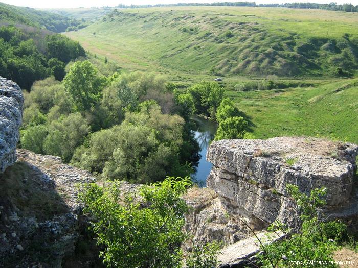 Липецкая область, река Воргол, Воргольские скалы, заповедник Галичья гора, Shraddha_3 (700x525, 422Kb)