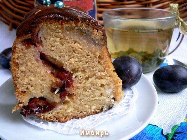 Творожный кекс с медом