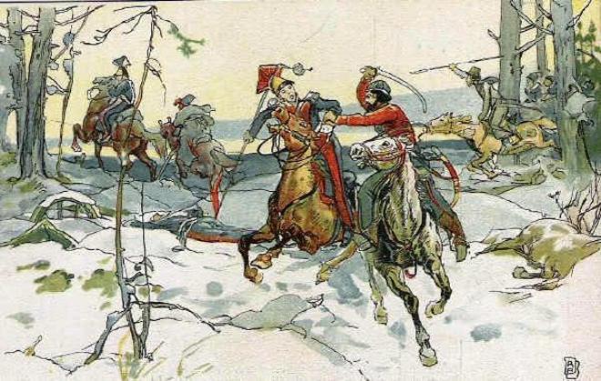 открытка партизан давыдов (660x419, 71Kb)