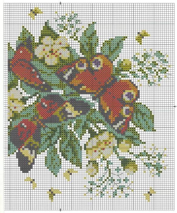 Часть 2 - Вышивка Хризантемы .
