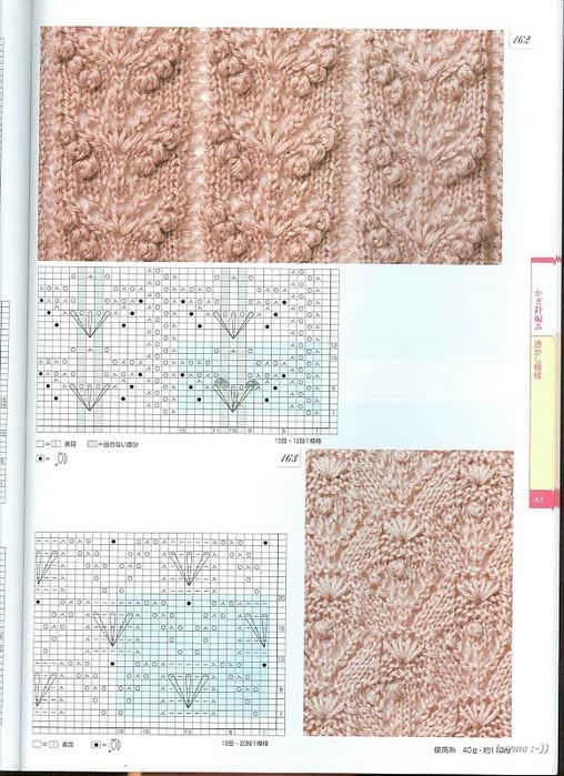 Образцы узоров вязания спицами болеро.