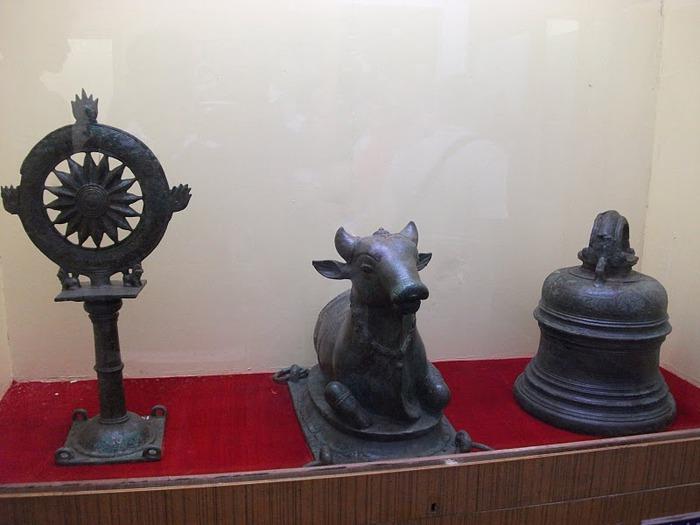 Танджавур - Дворец Наяков и музеи 39979