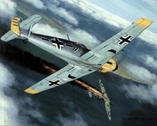 месс мёльдерса в бою 6.09.1940 (511x413, 75Kb)