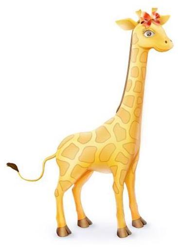 Жираф-девочка (330x510, 13Kb)