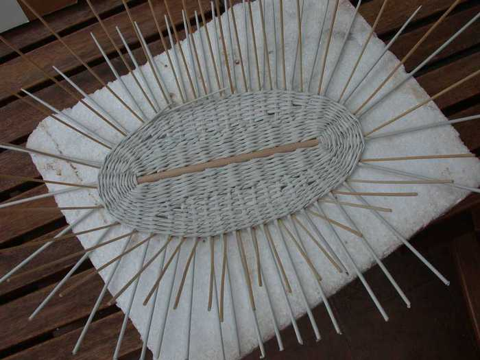 Paper Basket Weaving Supplies : Recycling paper baskets tutorial make handmade crochet